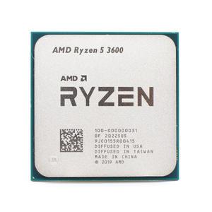 AMD Processor Cpu R5 AM4 3600-3.6ghz L3--32m-Socket Six-Core Twelve-Thread 7NM New No
