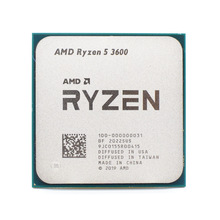Processor Cpu R5 Amd Ryzen AM4 3600-3.6ghz L3--32m-Socket Six-Core Twelve-Thread 7NM