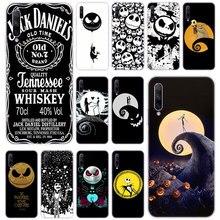 Pesadilla antes de Navidad Jack esqueleto funda para Huawei Honor 20 20i 10i 10 9 8 Lite 9X 8X 8A 8S 7S 7A Pro View 20 Play3 cubierta