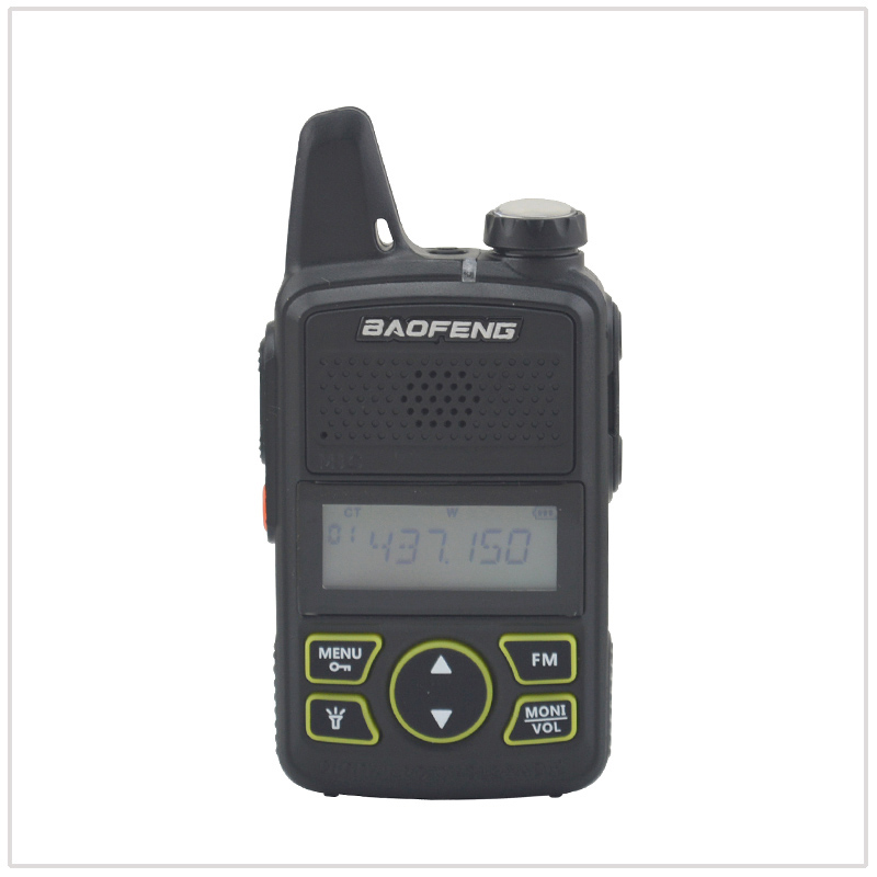 Walkie Talkie Baofeng Bf-t1 UHF 400-470MHz 20CH 1W Mini Pocket Two Way Radio Baofeng T1 Ham FM Radio With Earpiece