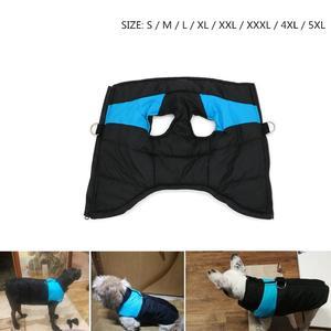 S-5XL Pet Dog Winter Clothes Waterproof  Vest Jacket Warm Clothing For Small Medium Large Big Coat Puppy 5XL 4XL 3XL XXL L M S