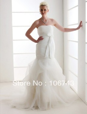 Free Shipping 2018 New Style Hot Sale Sexy Bride Wedding Sweet Princess Bow Ruched Custom Size Wedding Mother Of Bride Dresses