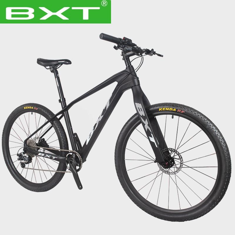 Велосипед Горный BXT, 27,5 дюйма, 1x11, с двойным дисковым тормозом, подходит для горных велосипедов высотой 160-185 см