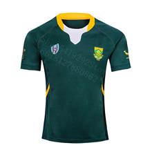 Южная Африка RWC регби Джерси домашние Джерси размер S-7XL заказ 10 штук за 1 шт