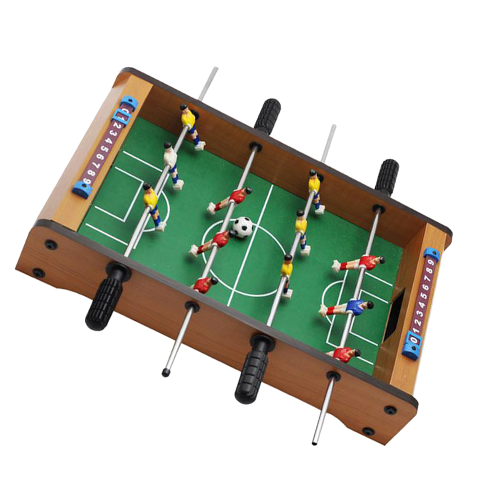 14inch Long Compact Mini Tabletop Foosball Table Soccer Game for Kids Toys image