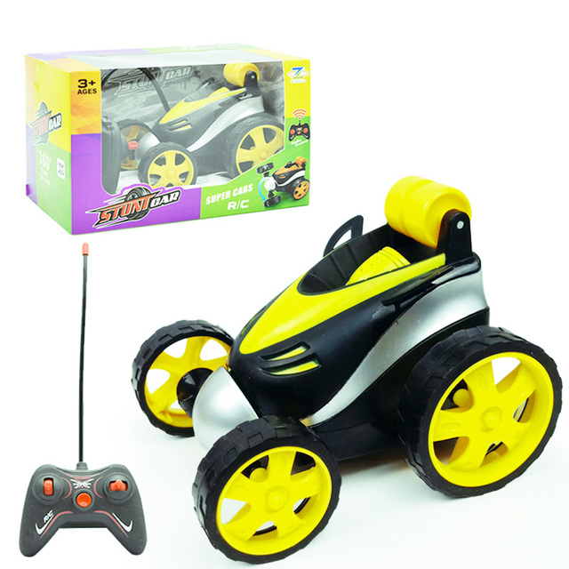 RC Car Children Toys Wireless Remote Control Stunt Tipping Trick Cars  Graffiti off Road Buggy Toy Drift Dancing Car Kids Gift