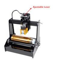 Máquina de gravura do laser do desktop cilindro escultura garrafa cola ou esportes copo máquina de gravura do laser|  -