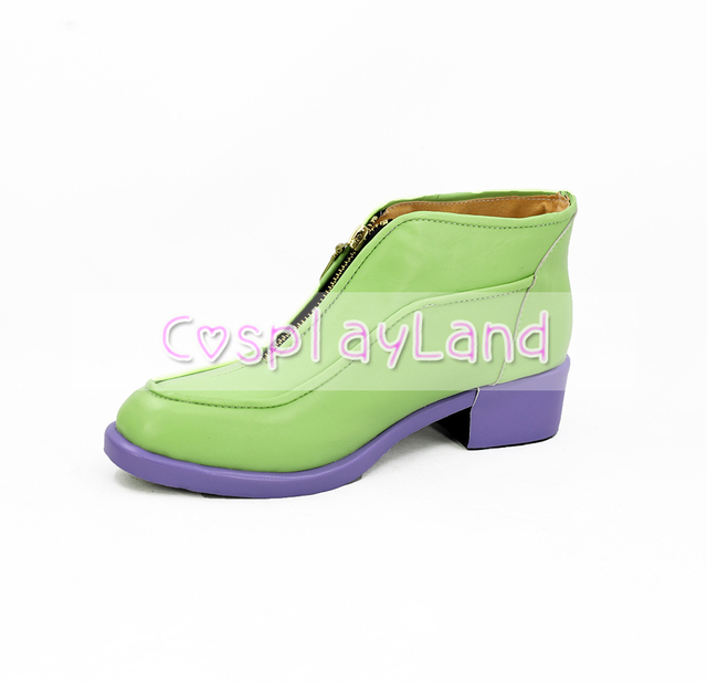 JoJo's Bizarre Adventure 5 Giorno Giovann Cosplay Boots Shoes Men Shoes Costume Customized Accessories Halloween Party Shoes 3