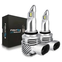 Diodo led h7 carro led farol 6000k canbus h11 lâmpadas led h4 lutador led 9005 hb3 9006 hb4 bulbos farol do carro lâmpada 10000lm