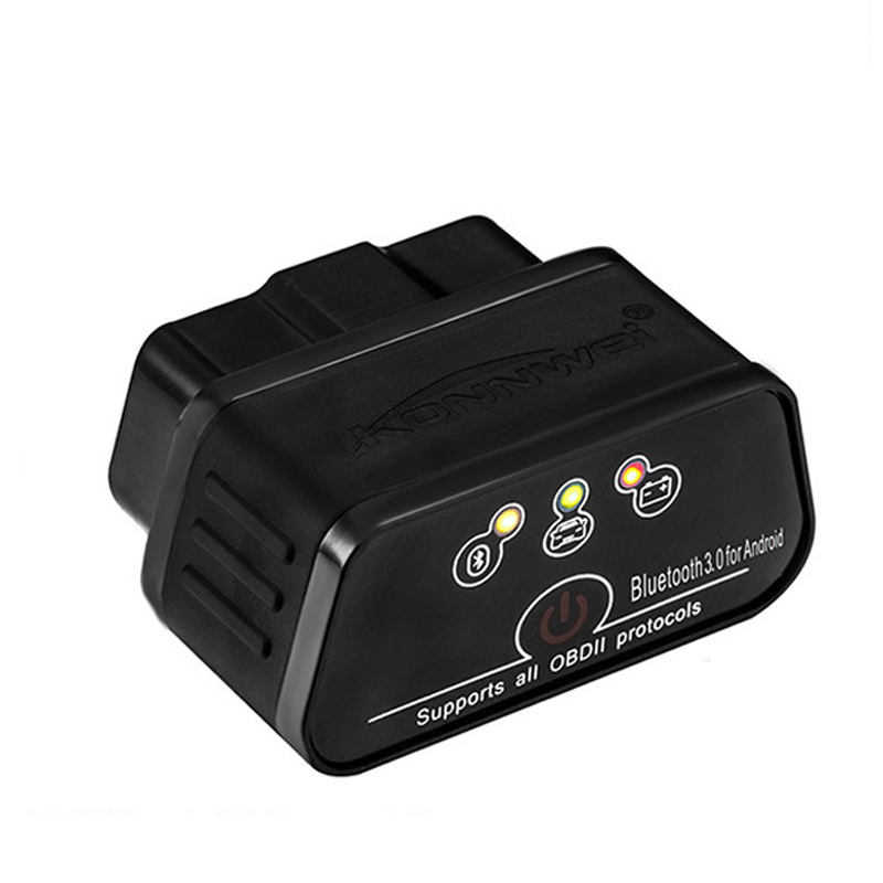 ELM327 OBD2 Scanner Car Scanner Icar2 KONNWEI Bluetooth ELM 327 V <font><b>1.5</b></font> Car Diagnostic Tool OBD <font><b>2</b></font> Scanner V1.5 <font><b>Pic18f25k80</b></font> Chip image