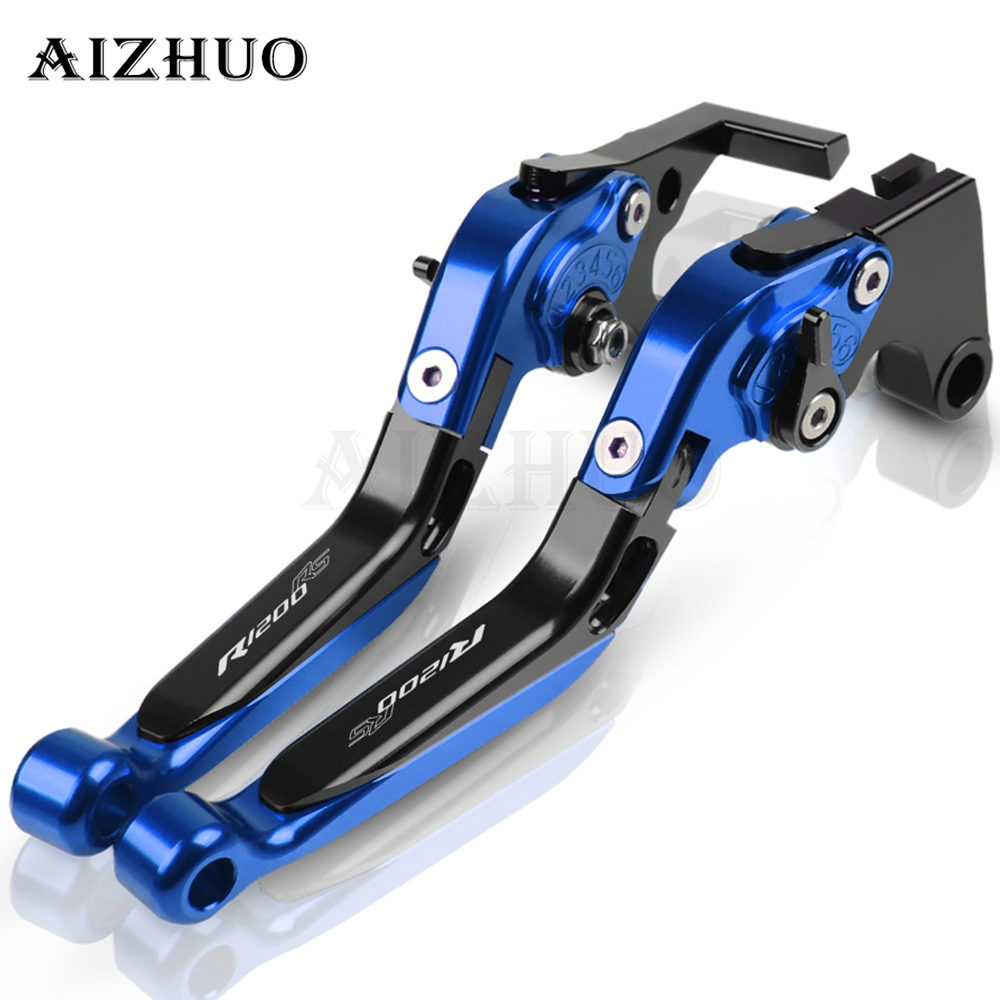 Brake Clutch For <font><b>BMW</b></font> R1200RS R <font><b>1200RS</b></font> R 1200 RS 2015 2016 2017 2018 Motorcycle Accessories Folding Extendable Brake Clutch Lever image