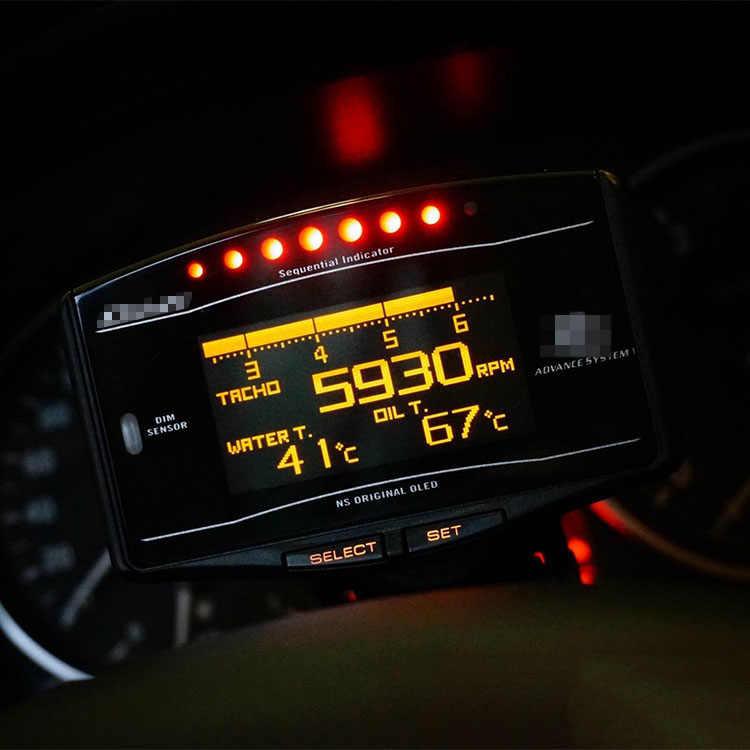 Defi Advance ZD 10 in1 Difi نمط وصلة عداد تلقائي DF09701 DF09703 الرياضة حزمة عداد سرعة رقمي مجموعة كاملة BF CR C2 متر