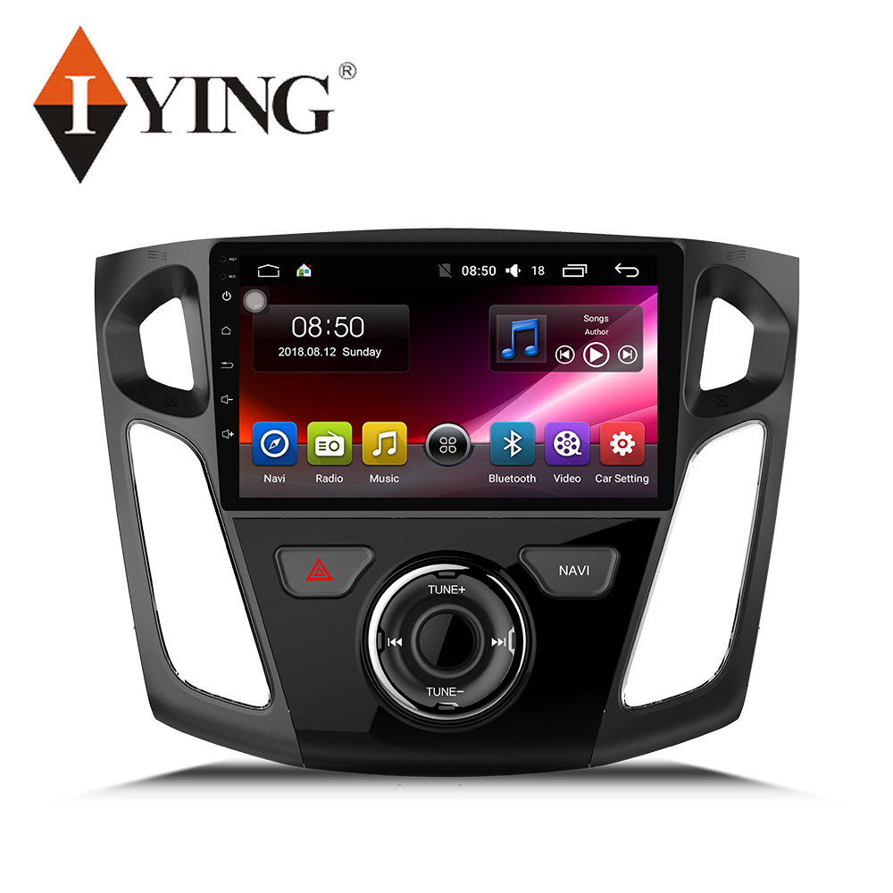 IYING 9'' For <font><b>Ford</b></font> <font><b>Focus</b></font> 2012-2017 Car Radio Multimedia Video Player <font><b>Navigation</b></font> GPS Android 9 No 2din 4G WIFI 8 core auto radio image