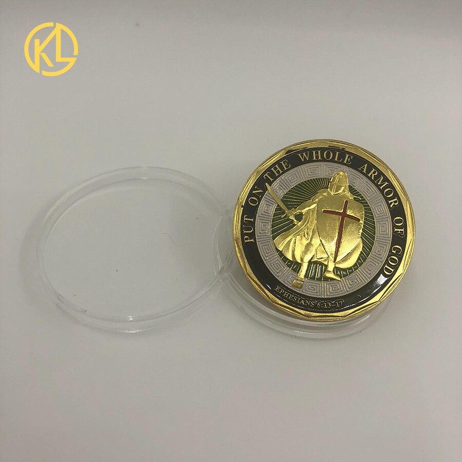 Золотой/посеребренный эфириум монета Биткоин памятная монета художественная коллекция подарок физическая имитация из металла вечерние украшения для дома - Цвет: CO024
