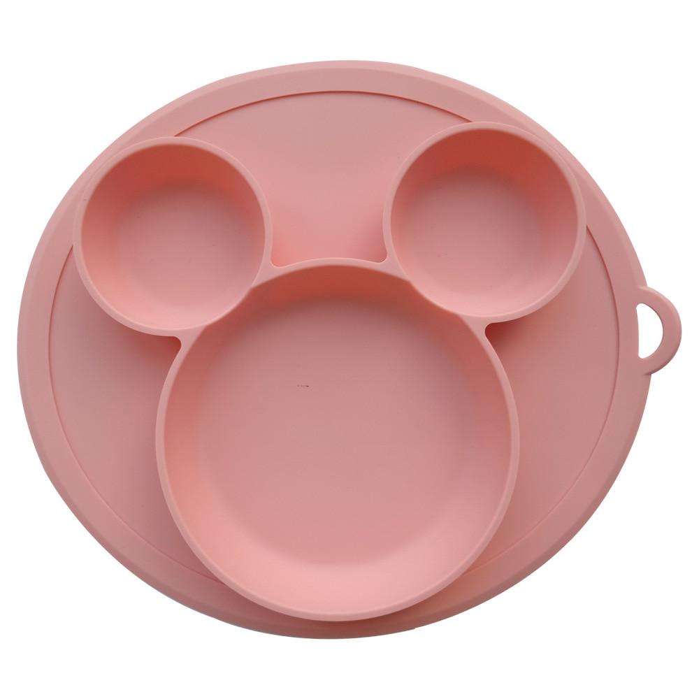Детские силиконовая пластина детская миска и тарелка силиконовая для кормления малышей чаша для силикагель посуда детская посуда
