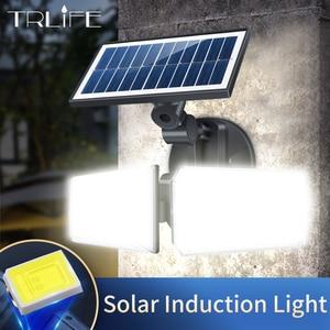 300W Solar Street Lights Outdoor Lamp 42 LEDs 8000lumens Indoor 80 COB Solar Lamp IP65 Waterproof For Camping Home Garden Yard