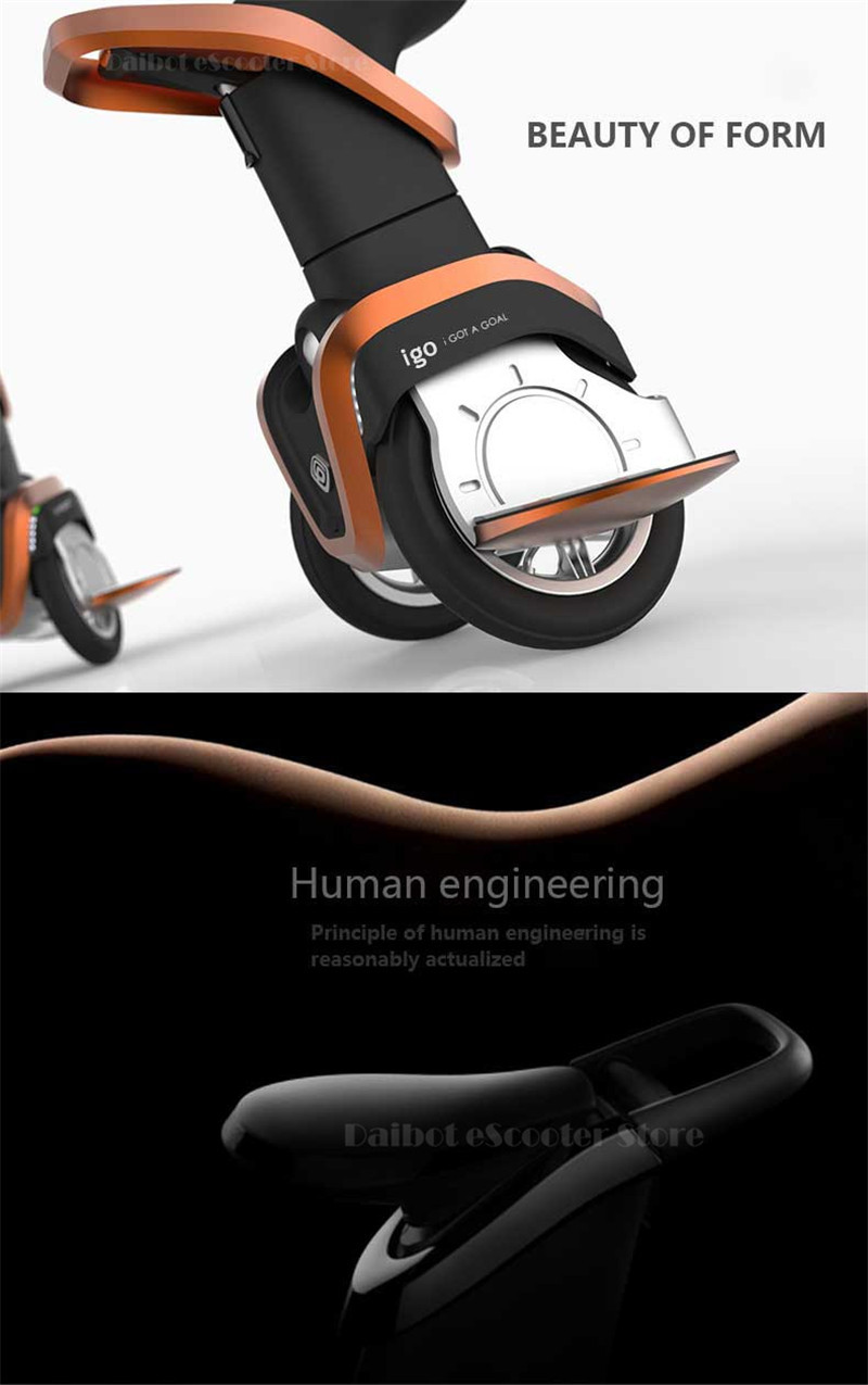 I-ROBOT-GO Electric Scooter Adults Two Wheel Self Balancing Scooters 48V 1200W Powerful Electric Scooter With SeatAPP  (7)