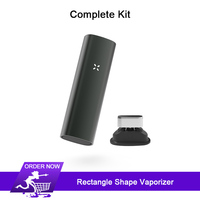Rectangle 2 in 1 dry herb Vaporizer Kit Electronic Cigarettes 3500mAh & Vibrating alert herbal vaporizer No Bluetooth VS PAX