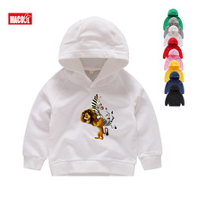 Madagascar Penguin Children Hoodies 2019 Sell Hot Winter Girls Favorite Animated Long Sleeves Baby Sweatshirts
