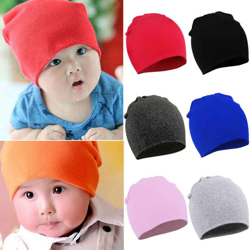 Goocheer Musim Semi Musim Gugur Musim Dingin Hangat Katun untuk Anak Laki-laki dan Perempuan Topi Balita Bayi Anak-anak Topi Permen Warna Indah Aksesoris Bayi