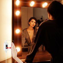 Usb светодиодный зеркальный светильник лампа для макияжа ручной