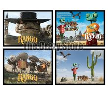 Rango Classic White Kraft Paper Painting movie Art Print Poster Wall Picture For Home Decor 42X30cm