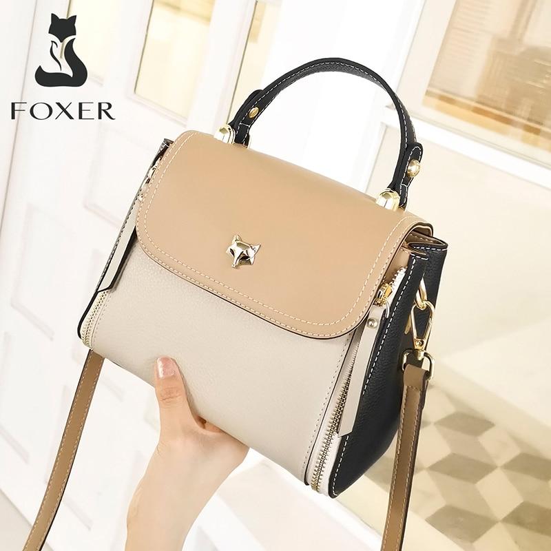 Foxer Gully Women's Leathher  Crossbody Handbag