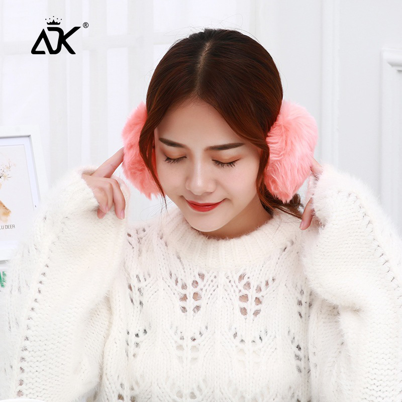 Girls Earmuffs Fluffy Soft Thick Earflap Warm Ear Cover Apparel Accessory Gift For Woman Comfortable Ear Protect Earmyffs