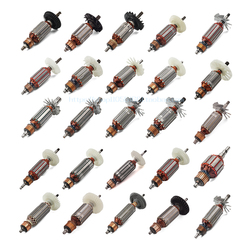 Wirnik szlifierka kątowa elektromechaniczna piła tarczowa młot elektryczny papier ścierny młot wyburzeniowy części do narzędzi elektrycznych w Akcesoria do elektronarzędzi od Narzędzia na