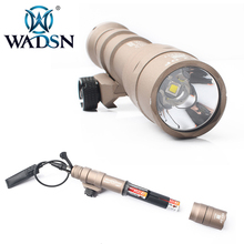 WADSN Tactical Flashlight M600DF Dual Fuel LED Scout Light 1400 Lumens Airsoft Torches MILSTD-1913 Rails Weapon Lights WD04001