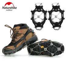Naturehike Snow Outdoor Antiskid Ice Claw Climbing Crampons Winter Hiking Stainless Steel Teeth Stable Durable Cleats Shoe