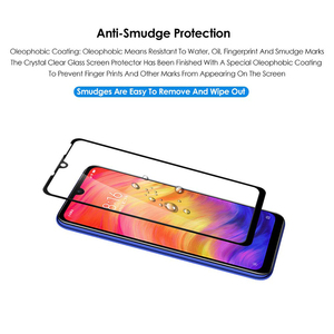 Image 4 - VALAM Tempered Glass Screen Protector For Xiaomi Redmi Note 7 Pro Note8 Pro 8T glass Full covre Redmi 7 8 7A Note7 Pro Glass