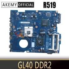 AKEMY BA41-01116A BA41-01117A BA41-01118A для samsung R519 Материнская плата ноутбука GL40 DDR2 только в том случае,
