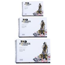Notepad Marker-Paper Book Sketch Painting Drawing-Supplies 34-Sheet Professional A4/A5