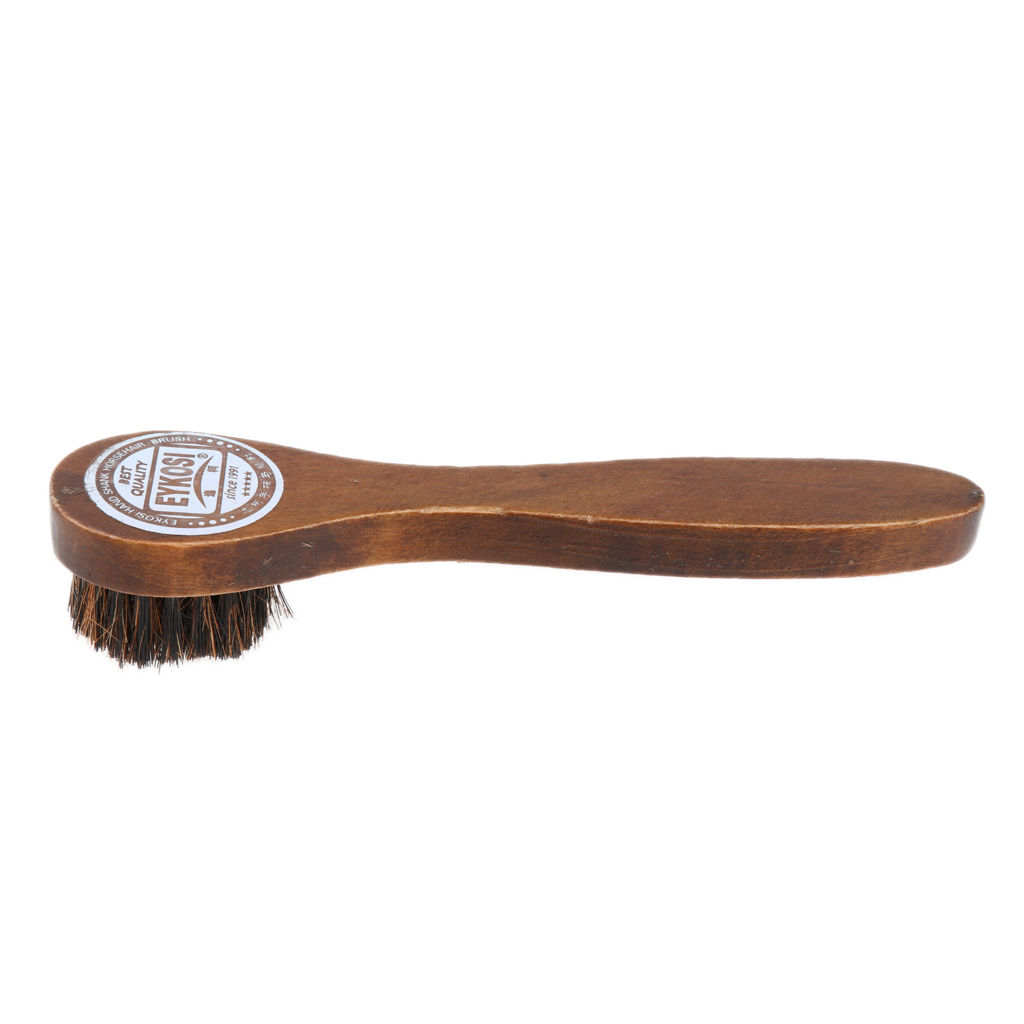 Wooden Handle Shoe Boot Cleaning Brush Cleaner Polish Applicator Shine