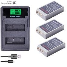 2000mAh PS BLS5 BLS 5 BLS5 BLS 50 BLS50 Battery for Olympus PEN E PL2,E PL5,E PL6,E PL7,E PM2, OM D E M10, E M10 II, Stylus1