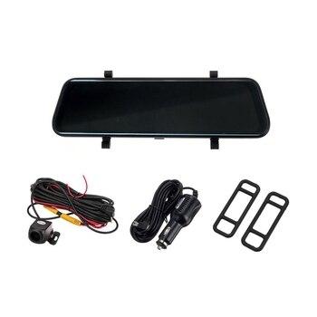 10 Inch Car Dvr Rearview Mirror Sprint Camera 1080P Full Hd Dual Lens contact Screen Car Video Recorder