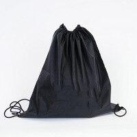Siyah beraberlik cep motosiklet Scooter Moped kask kapak koruma çantası basketbol çantası| |   -
