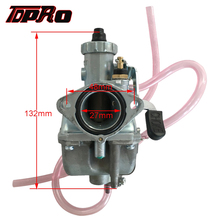 TDPRO VM22 Racing 26mm Motorcycle Carburetor For XR/CRF50 70 Go Karts 110cc 125cc 140cc Pit Pro Dirt Quad Bike ATV SSR Thumpstar