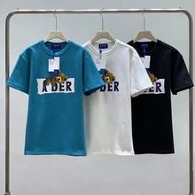 3D Farbstoff Schlaf bär Druck Ader Fehler Lose T-Shirt 2021 Neue Männer Frauen Casual 1:1 Hohe Qualität Ader Fehler T-Shirts tops T