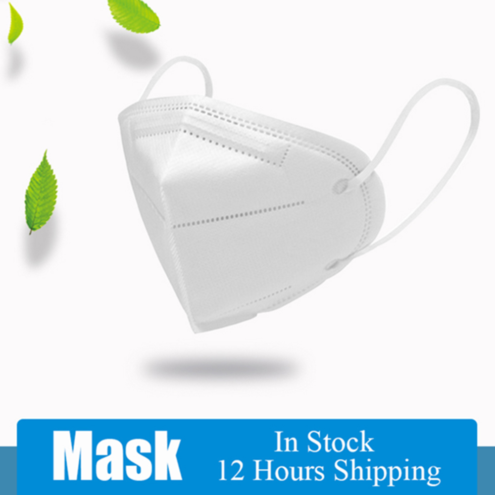 5PCS/10PCS Disposable Mask Masque Face Masks Mouth Anti-fog Mask Mascherie 4-Layer Dustproof Safety Respirator For Dropshipping