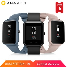 Global Version Huami AMAZFIT Bip Lite Smart Watch 45 Days Battery Life 3ATM Waterproof Multi Sport Modes for iOS Android