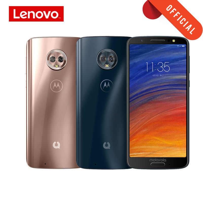 GLOBAL ROM MOTO G6 vert Pomelo 1S 4GB 64GB Smartphone 5.7 pouces 18:9 plein écran téléphone portable Aurora Satin 3D verre téléphone portable