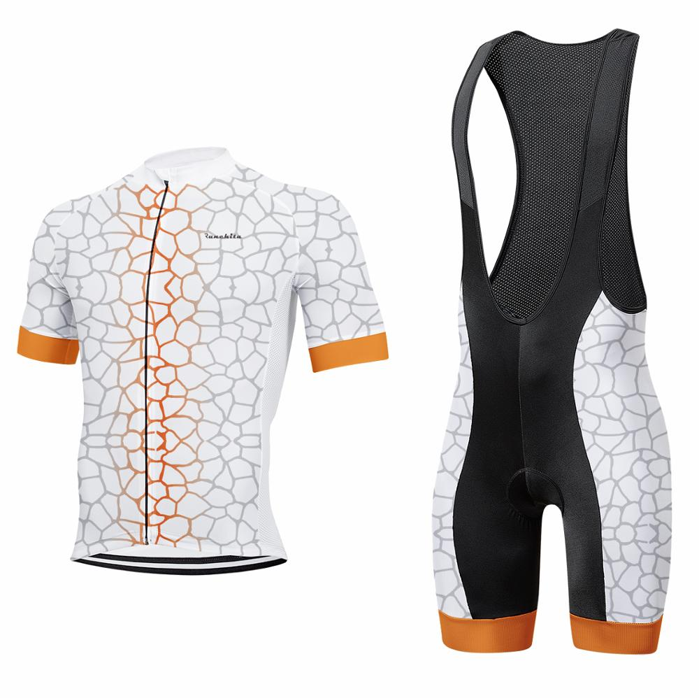 Runchita cycling jersey pro team clothes men 's short sleeve suit quick dry breathable gel cushion ropa ciclismo aero clothing|Cycling Sets| |  - title=