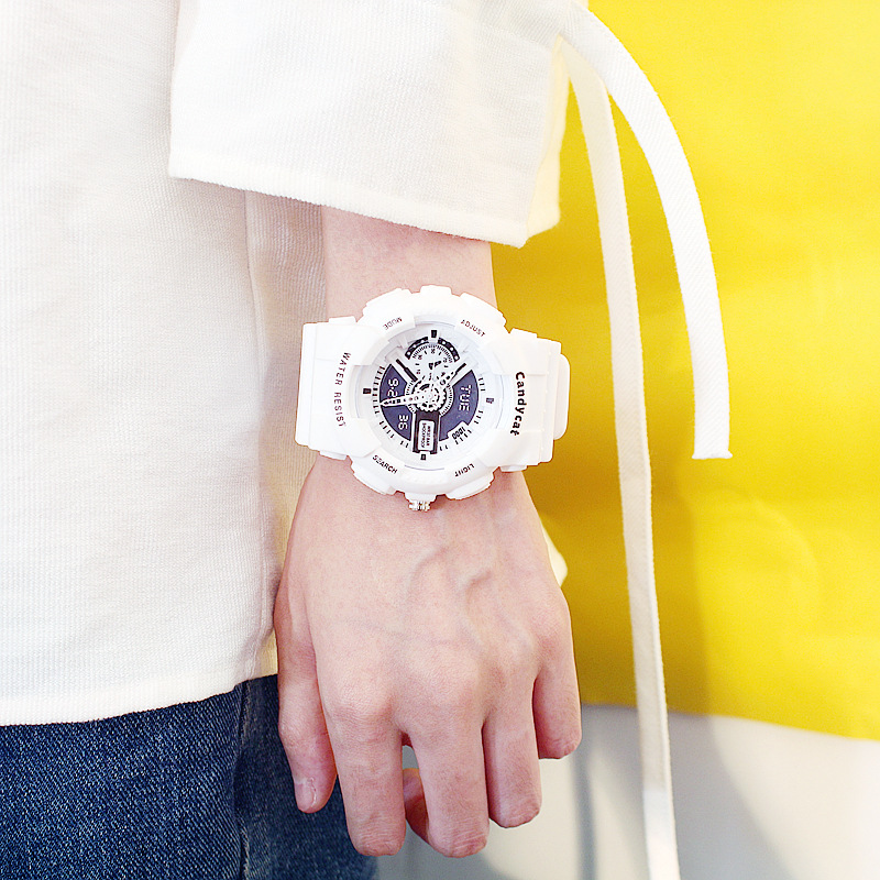 Relogio Feminino Digital Wristwatch Clock Led Watch Waterproof Women Colorful Student Couple Sports Electronic Watches Drop Ship