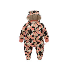 Newborn Jumpsuit Baby Camouflage Infant Cotton-padded Clothing(China)