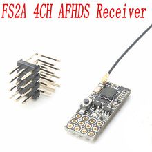 FS2A 4CH AFHDS 2A Mini Compatible Receiver PWM Output for Flysky i6 i6X i6S / FS-i6 FS-i6X FS-i6S Transmitter
