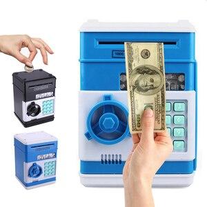 Новая детская электронная копилка, сейф, копилка для цифровых монет, экономия денег, сейф, банкомат, машина, подарок на день рождения для дет...