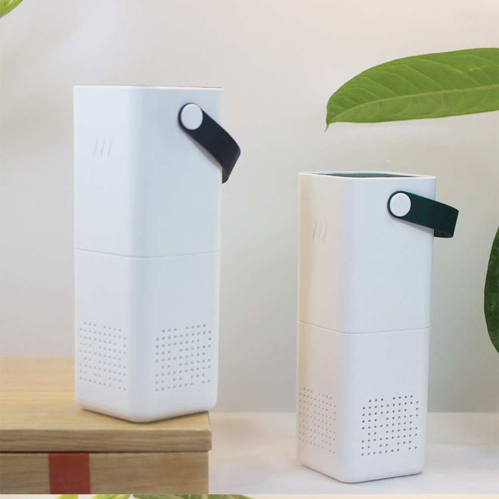 Car air purifier household USB negative ion generator formaldehyde disinfection machine square USB air purifier