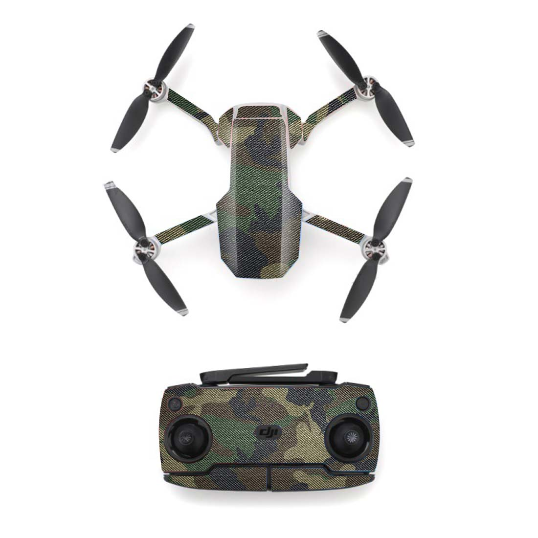 Camo Camouflage Style Skin Sticker For DJI Mavic Mini Drone And Remote Controller Decal Vinyl Skins Cover M0047